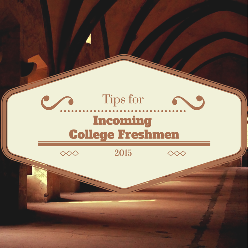 Top 5 Tips for Incoming College Freshmen