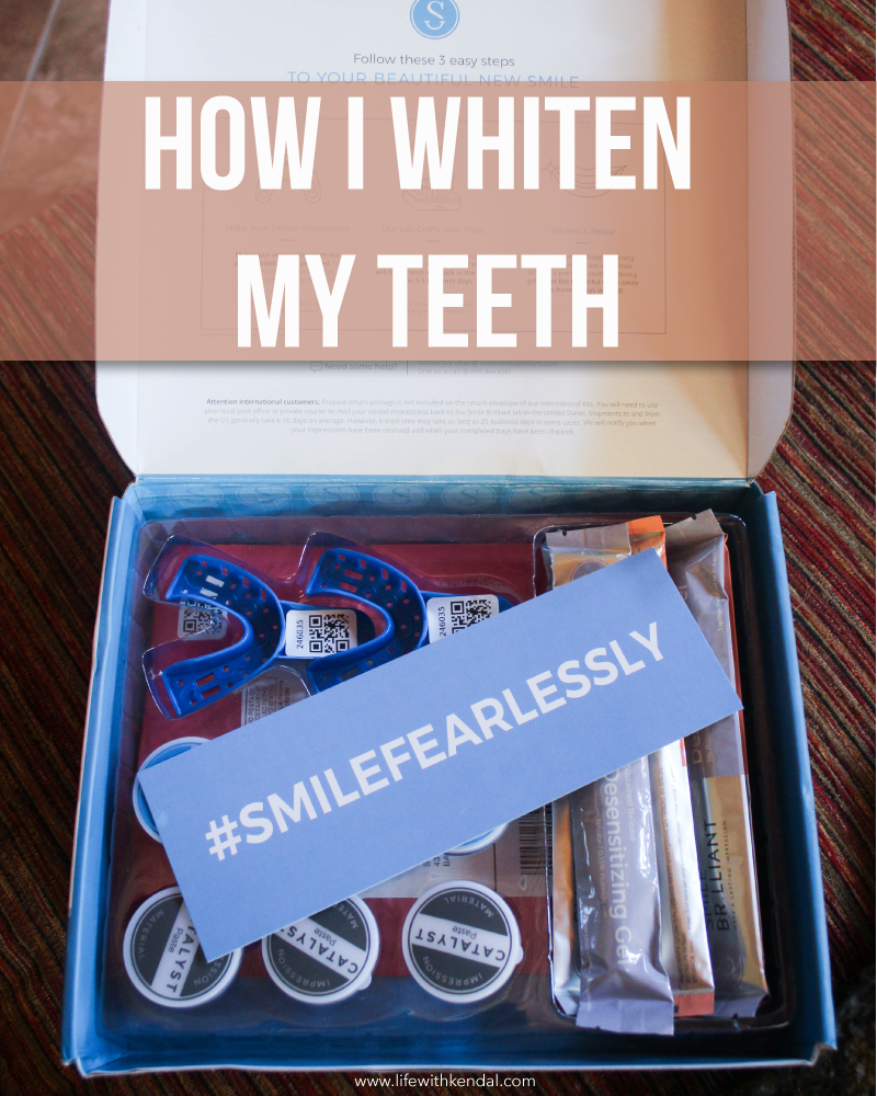 Pearly White Teeth for the Holidays | How I Whiten My Teeth + GIVEAWAY!