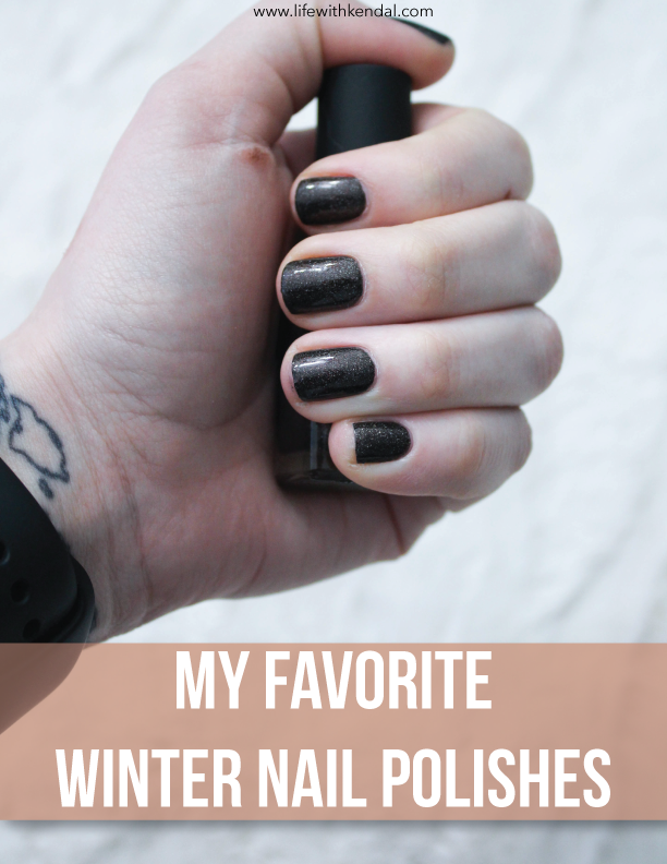 My Favorite Winter Nail Polishes