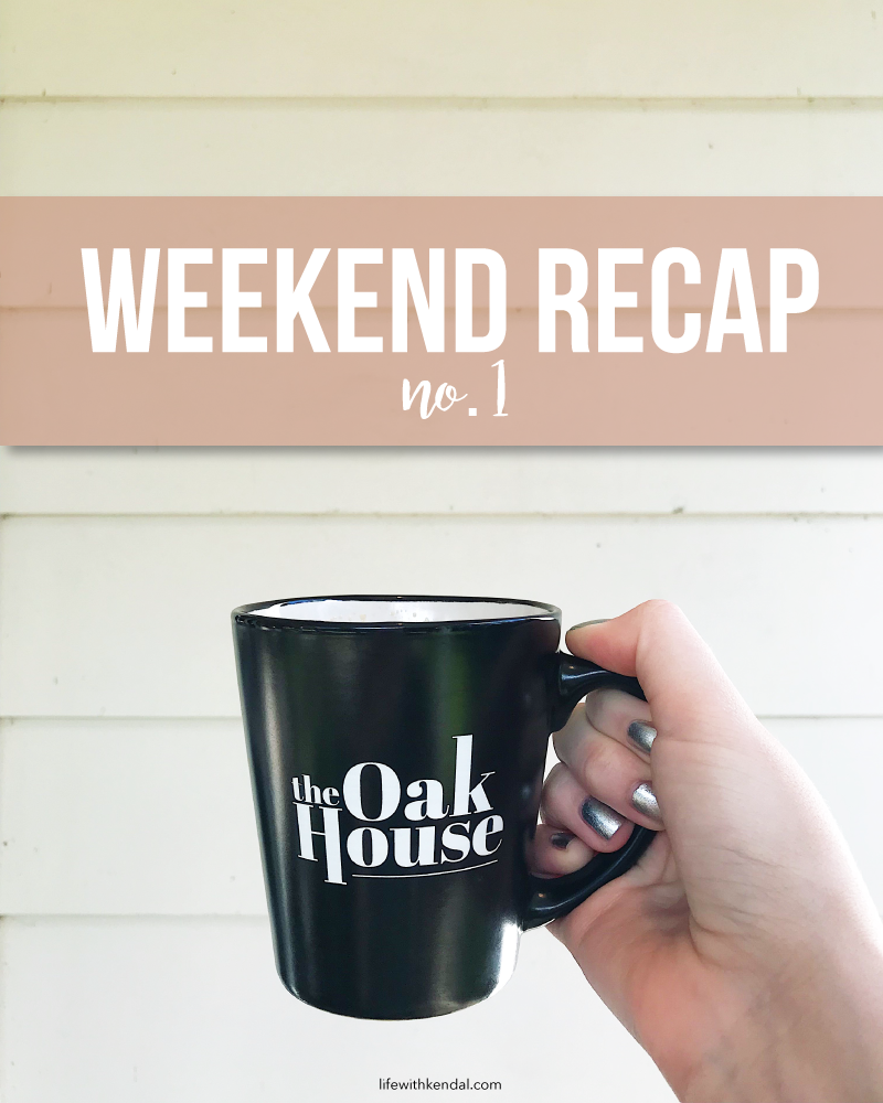 I'm Back! | Weekend Recap No. 1